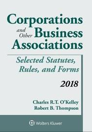 Corporations and Other Business Associations by Robert B Thompson image