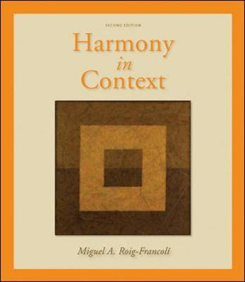 Harmony in Context by Miguel Roig-Francoli image