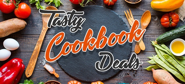 Tasty Cookbook Deals! Up to 60% off!