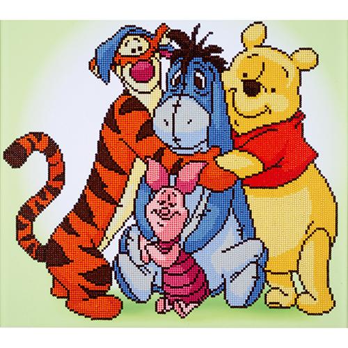 Diamond Dotz: Disney Facet Art Kit - Pooh and Friends (47 x 42cm)