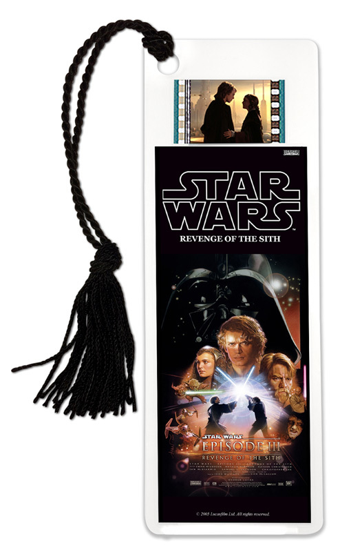 FilmCells: Film Cell Bookmark - Star Wars III (Revenge Of The Sith)