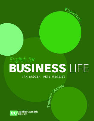 English for Business Life Elementary Trainer Manual by Ian Badger image