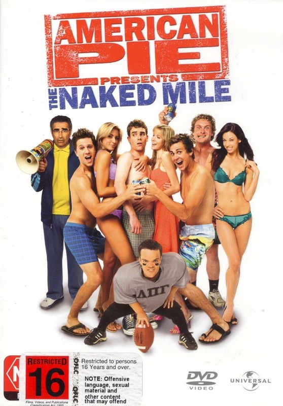American Pie Presents The Naked Mile on DVD