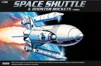 Academy Space Shuttle with Booster Rockets 1/288 Model Kit