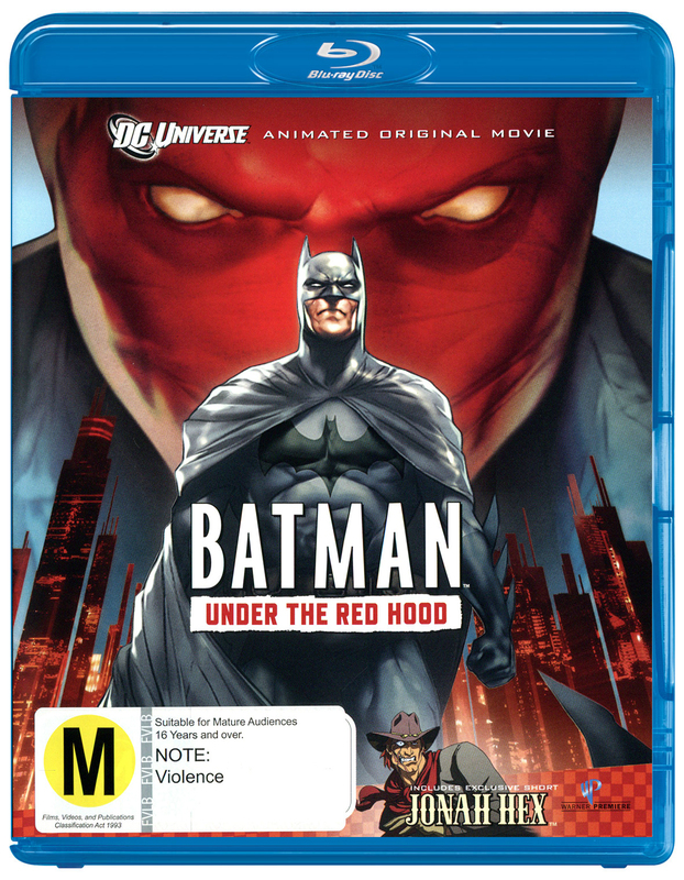 Batman: Under the Red Hood on Blu-ray