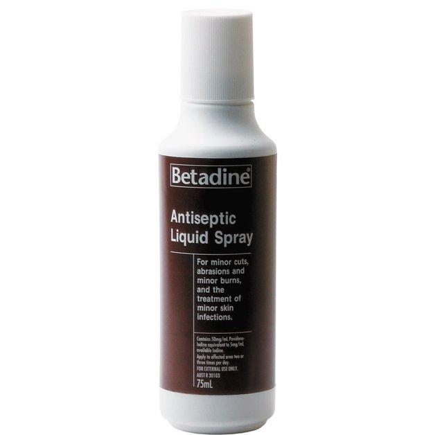 Betadine Antiseptic Liquid Spray (75ml)
