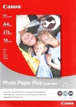 Canon PP101DA4 Double Sided Photo Paper Plus 10PK Glossy