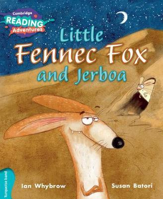 Little Fennec Fox and Jerboa Turquoise Band by Ian Whybrow