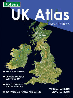 UK Atlas by Patricia Harrison