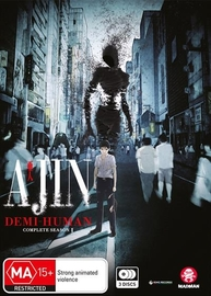Ajin: Demi-Human - Complete Season 1 on DVD