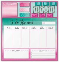 Lady Jayne: Stationery Set - Hustle & Heart