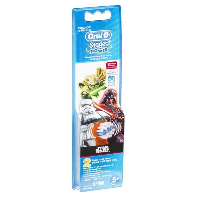 Oral-B: Vitality Kids Stages Refill Brush Heads - Star Wars