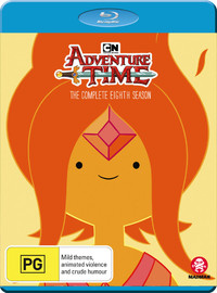 Adventure Time - The Complete Eighth Season on Blu-ray