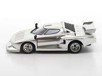 Tamiya: 1/24 Lancia Stratos Turbo (Silver Color Plated Ltd Ed) - Model Kit