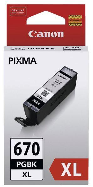 Canon Ink Cartridge - PGI670XLBK (Black High Yield)