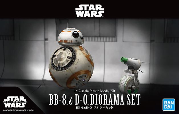 Star Wars: 1/12 BB-8 & D-O Diorama Set - Model Kit