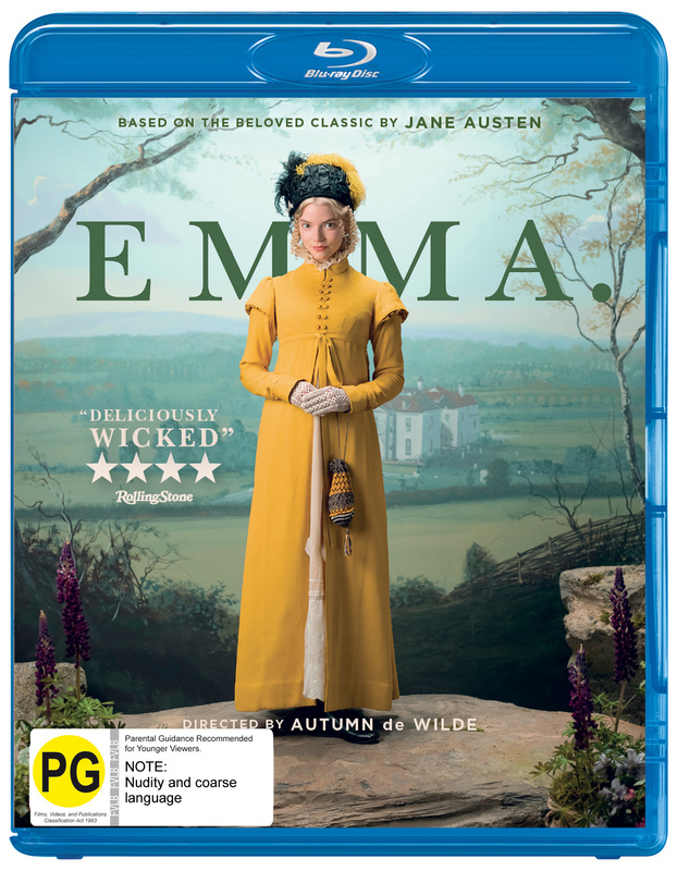 Emma on Blu-ray
