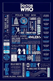Doctor Who Infographic Maxi Poster (203)