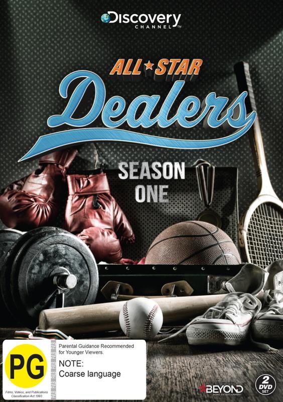 All-Star Dealers Season 1 on DVD