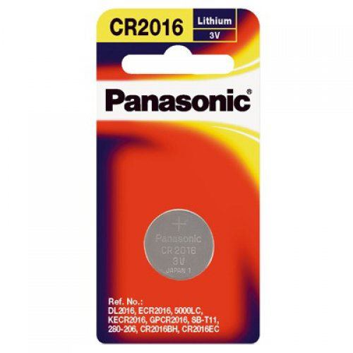 Panasonic Lithium 3V Coin Cell Battery CR2016 - 1 Pack