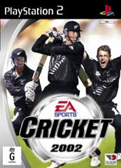Cricket 2002 for PlayStation 2