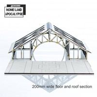 Shopping Mall: 200mm Floor & Roof Extension