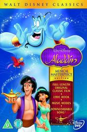 Aladdin - Musical Masterpiece Edition: Limited Edition on DVD
