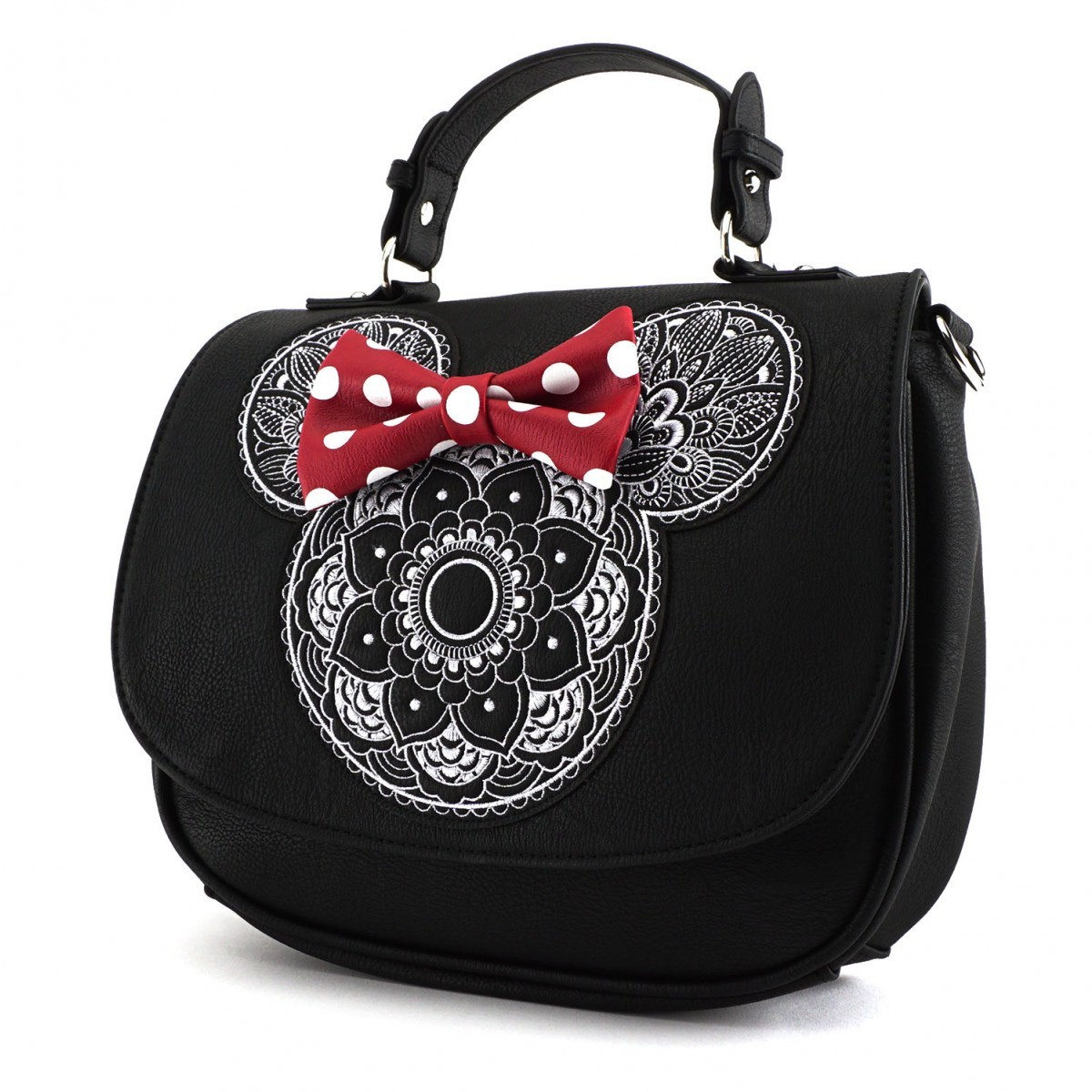 22ea6ebadfc4 Disney Minnie Mouse Mandala Crossbody Bag | Women's | at Mighty Ape ...