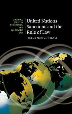 United Nations Sanctions and the Rule of Law by Jeremy Matam Farrall image