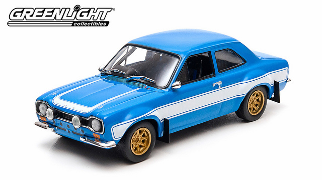 1/43: Ford Escort RS2000 MKI - Fast & Furious 6 - Diecast Model image