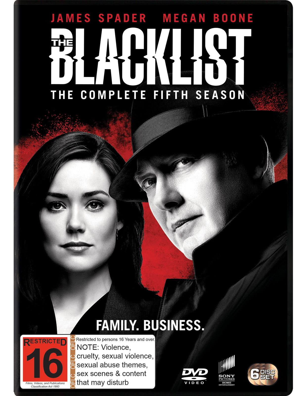 The Blacklist: Season 5 on DVD image