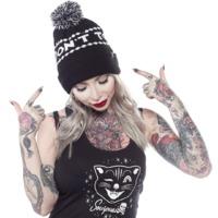Sourpuss: Sourpuss: Don't Touch Me Hat (Black) image
