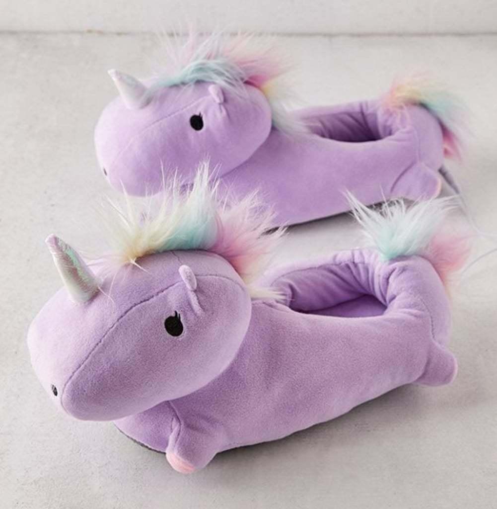 6266bdf2e2f Unicorn USB Heated Slippers (Purple) image ...