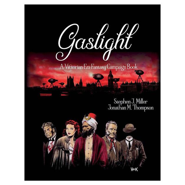 Gaslight: Victorian Fantasy RPG 5E Compatible