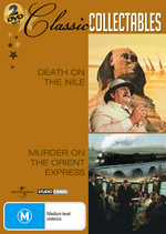 Death On The Nile / Murder On The Orient Express - Classic Collectables (2 Disc Set) on DVD