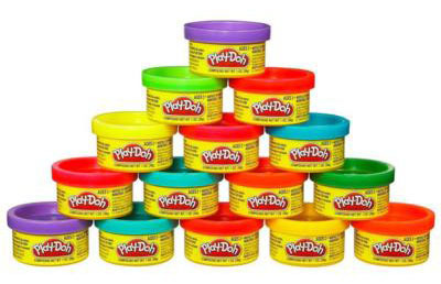 Play-Doh: Party Bag 15 Cans with Gift Tags image