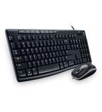 Logitech MK200 Desktop Kit, USB Keyboard + Mouse