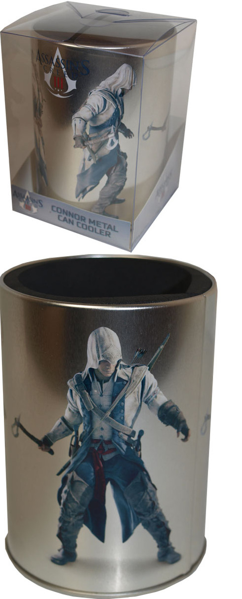 Assassin's Creed 3 Metal Can Cooler - Connor image