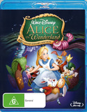 Alice in Wonderland: 60th Anniversary Edition on Blu-ray
