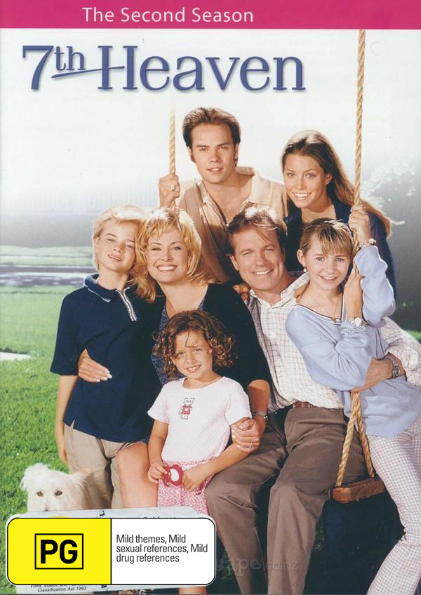7th Heaven - Complete Season 2 (6 Disc Set) on DVD image