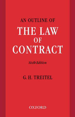 An Outline of the Law of Contract by G.H. Treitel image