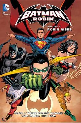 Batman And Robin Vol. 7 Robin Rises (The New 52) by Peter J Tomasi