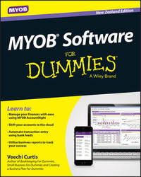 MYOB Software For Dummies - NZ by Veechi Curtis