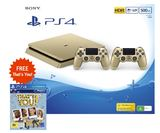 PS4 Slim 500GB Console - Gold for PS4