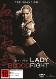 Lady Bloodfight on DVD