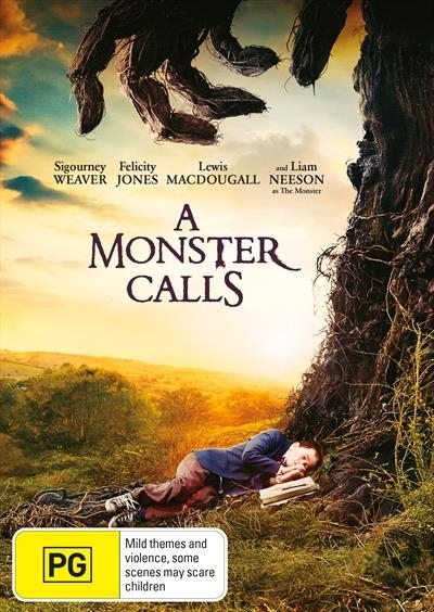 A Monster Calls on DVD image