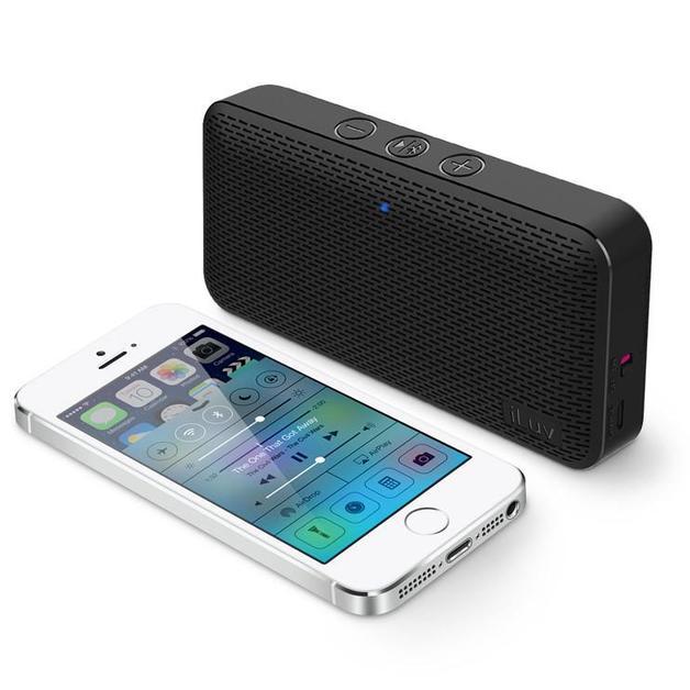 iLuv: Aud Mini - Ultra Slim Bluetooth Speaker (Black)
