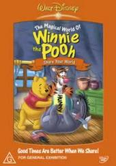 Winnie the Pooh - Volume 7 : Share Your World on DVD