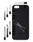 in1Case: IN1 Utility Case for iPhone 6 - Black/Black