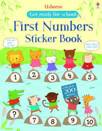 First Numbers Sticker Book by Jessica Greenwell